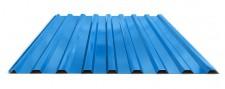 Профнастил МП-20 для крыши окрашенный RAL 5005 Синий