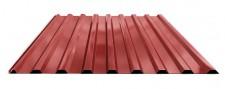 Профнастил МП-20 для крыши окрашенный RAL 3011 Красный
