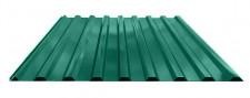 Профнастил МП-20 для крыши окрашенный RAL 6005 Зеленый мох