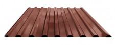 Профнастил МП-20 для крыши окрашенный RAL 8017 Шоколад