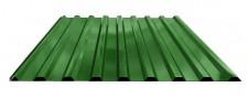 Профнастил МП-20 для крыши окрашенный RAL 6002 Зеленая листва